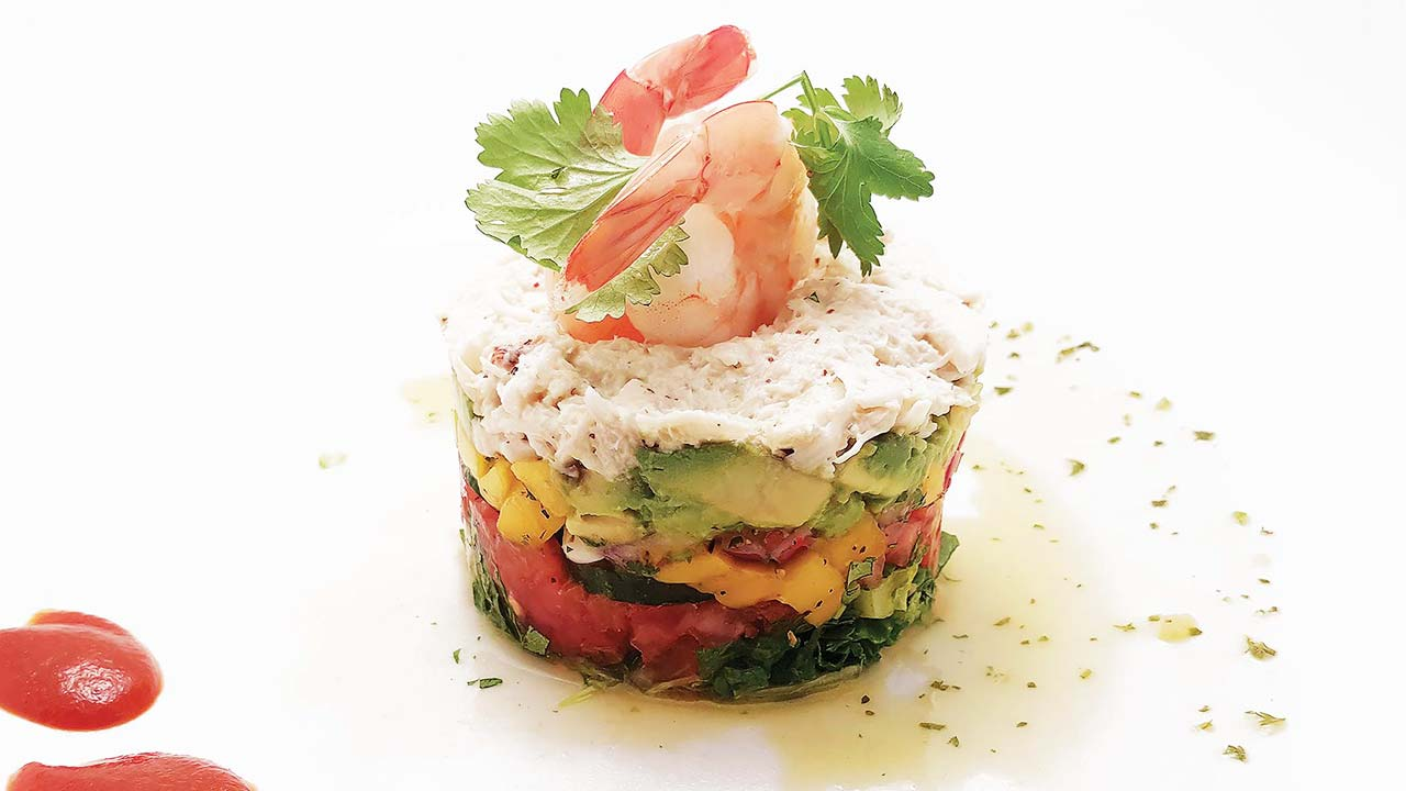 Avocado Crab Tower